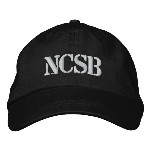 NCSB EMBROIDERED BASEBALL CAP