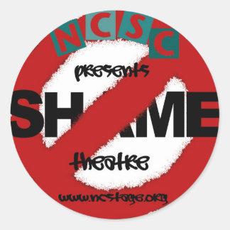 NCSC No Shame Sticker