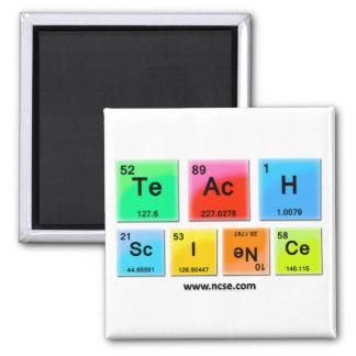 "NCSE ""Teach Science"" Magnet"