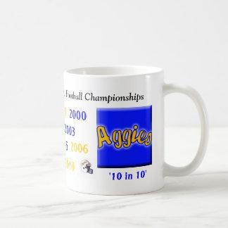 nd football champs coffee mug