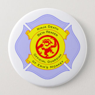 NDBR Badge 4 Inch Round Button