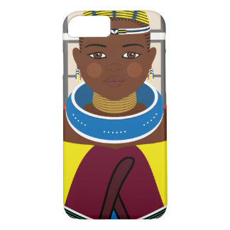 Ndebele South African Matryoshka Case