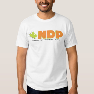 NDP canadien Tee Shirts