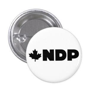 NDP Logo Alternative 1 Inch Round Button