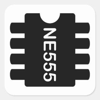 NE-555 SQUARE STICKER