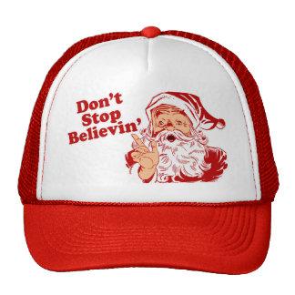 Ne cessez pas la croyance casquettes de camionneur