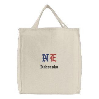 NE Custom Embroidered Bag