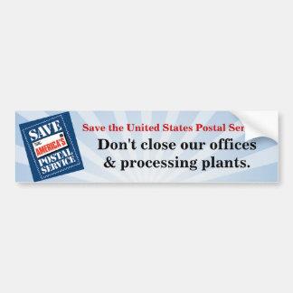 Ne fermez pas nos bureaux autocollant de voiture