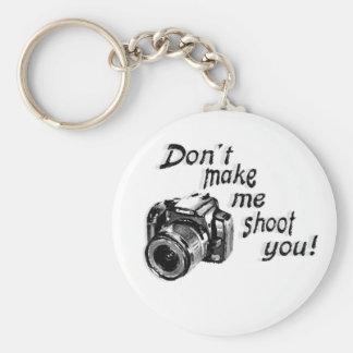 Ne m'incitez pas à vous tirer porte - clé porte-clefs