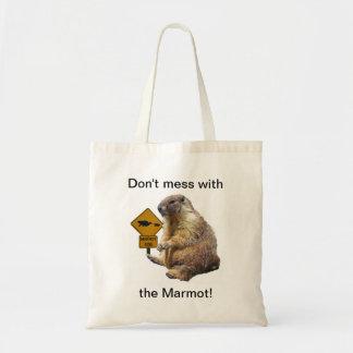 Ne salissez pas avec Marmot ! Sac En Toile Budget