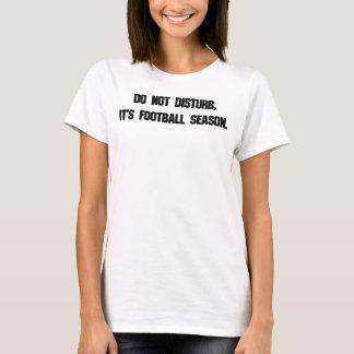 Ne touchez pas au football t-shirt