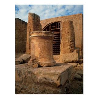 Nea Paphos, the tombs of the Kings, Cyprus Postcard