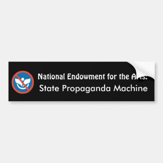 NEA: State Propaganda Machine Bumper Sticker