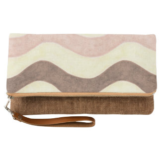 Neapolitan Colored Clutch