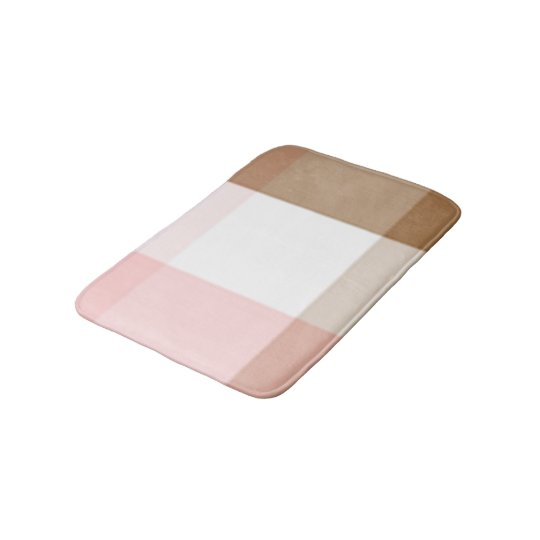 Neapolitan Crisscross Bathroom Mat