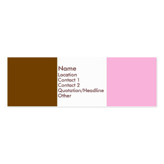 Neapolitan Ice Cream Business Cards