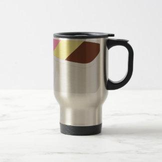 Neapolitan Ice Cream Travel Mug