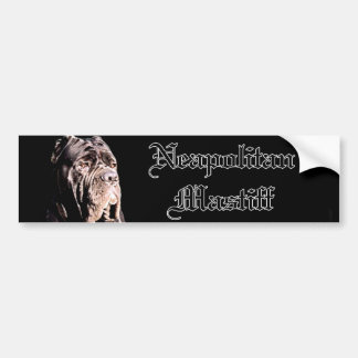 Neapolitan Mastiff bumper sticker