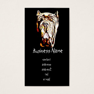 Neapolitan Mastiff Business Card