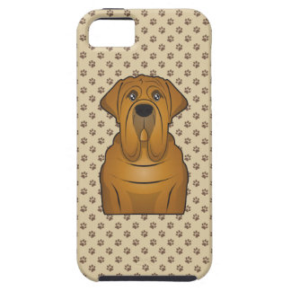 Neapolitan Mastiff Cartoon iPhone 5 Cases