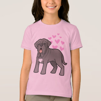 Neapolitan Mastiff Love T-Shirt