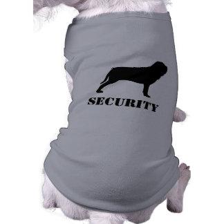 Neapolitan Mastiff Silhouette with Text Shirt