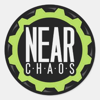 Near Chaos Sticker
