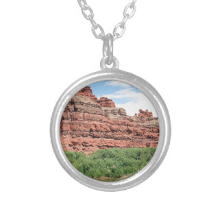 Near Dead Horse Point, Utah 6 Silver Plated Necklace
