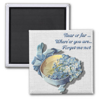 Near or Far Forget Me Not Magnet