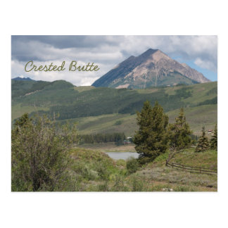 Near Peanut Lake, Crested Butte, CO Postcard