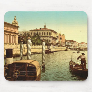 Near St. Mark's, Venice, Italy classic Photochrom Mouse Pad