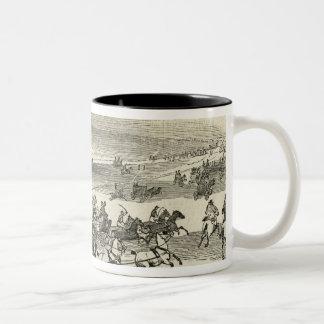 Near the Course, Newmarket Two-Tone Coffee Mug