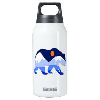NEAR THE GLACIER INSULATED WATER BOTTLE