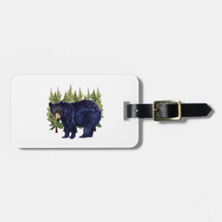 NEAR THE PINES LUGGAGE TAG