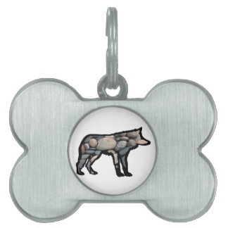 NEAR THE WATER PET NAME TAG