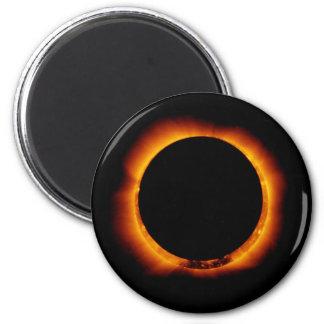 Near Total Solar Eclipse Magnet