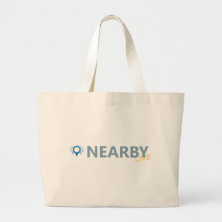 Nearby Live Tote Bags