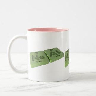Neat as Ne Neon and At Astatine Mug
