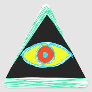 Neat Illuminati Triangle Sticker