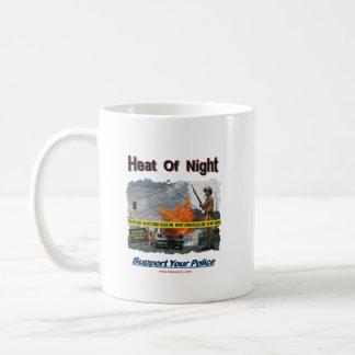 Neat Of Night Texurizerd Classic White Coffee Mug
