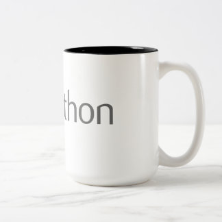 Neat Python Coder Two-Tone Coffee Mug