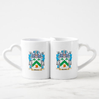 Neate Coat of Arms - Family Crest Couple Mugs