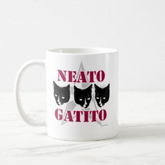 Neato Gatito Sassy Cat Slogan Coffee Mug