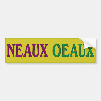 Neaux Oeaux Anti-Obama Bumper Sticker