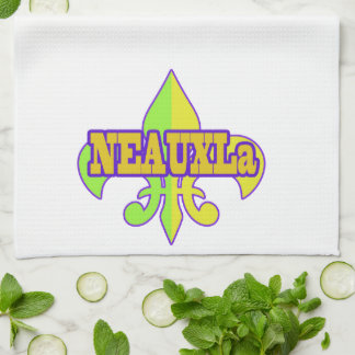 NEAUXLa Fleur de Lis Kitchen Towel