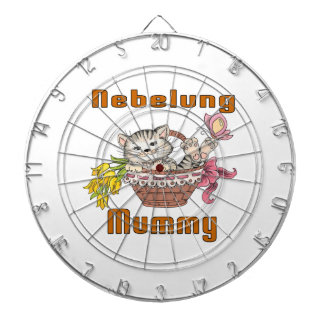 Nebelung Cat Mom Dartboard