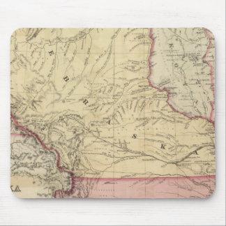 Nebraska and Kansas 3 Mouse Pad