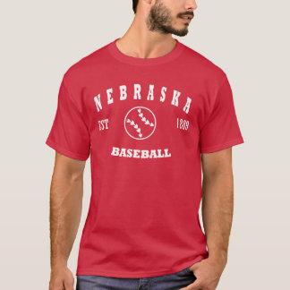 Nebraska Baseball Retro Logo T-Shirt