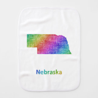 Nebraska Burp Cloth