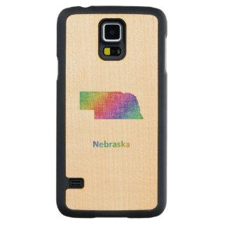 Nebraska Carved Maple Galaxy S5 Case